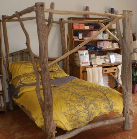 rustic 4 poster bed $7,500 | home space | pinterest | bedrooms