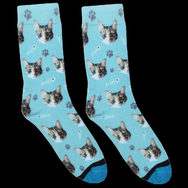 Custom Cat Socks Cat socks, Custom cat