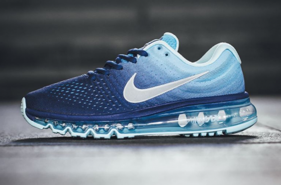 A Mixture Of Blues Define This Nike Air Max 2017