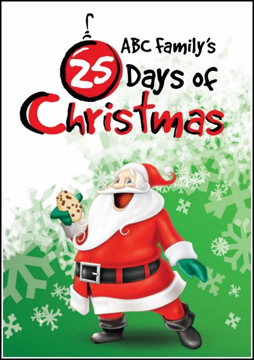Abc Family S 25 Days Of Christmas 2014 Schedule 25 Days Of