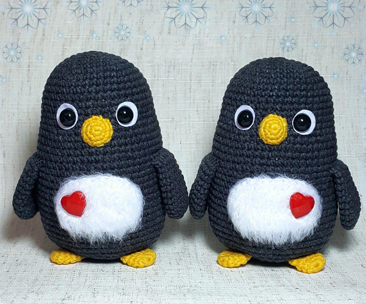 Free penguin crochet pattern! #crochet #amigurumi | dekoraciooo ...