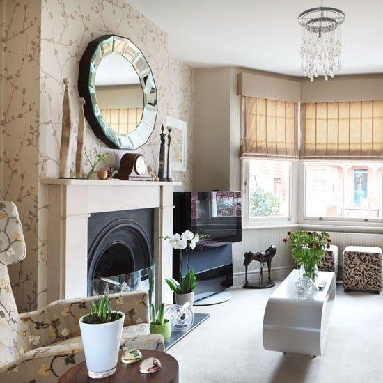 Perfect Traditional Living Room Wallpaper | Living Room Wallpaper | 10 Ideas |  Housetohome.co. Part 17