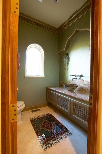 Saratoga Mediterranean Custom Home - mediterranean - bathroom - san francisco - Conrado - Home Builders