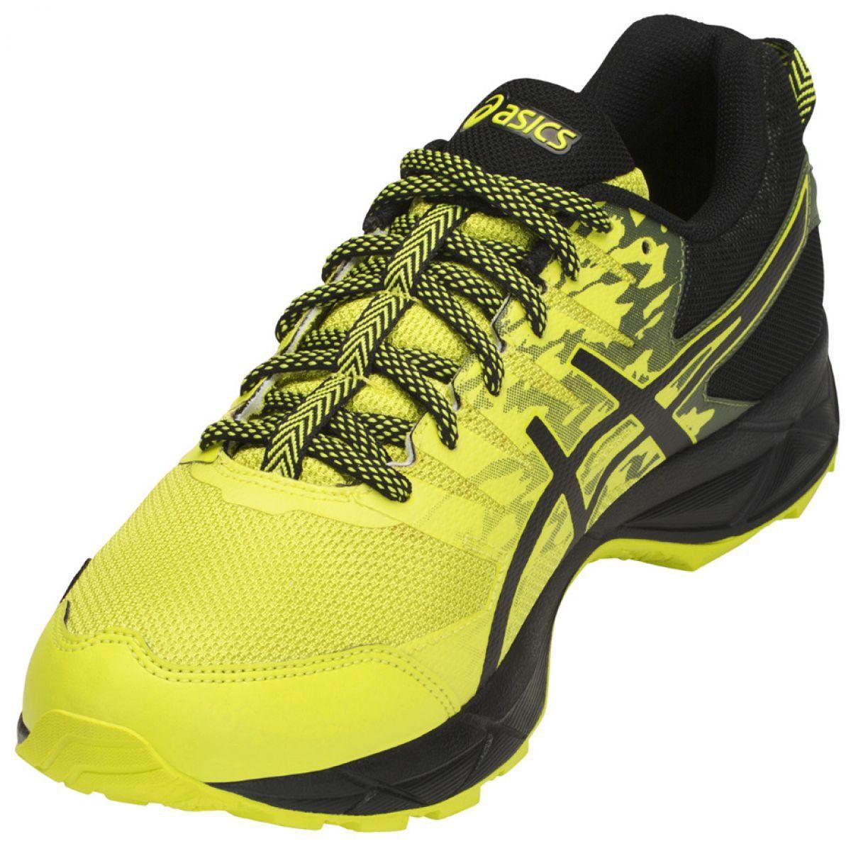 Buty Do Biegania Asics Gel Sonoma 3 M Gtx T727n 8990 Czarne Zolte Black Running Shoes Running Shoes Running Shoes For Men