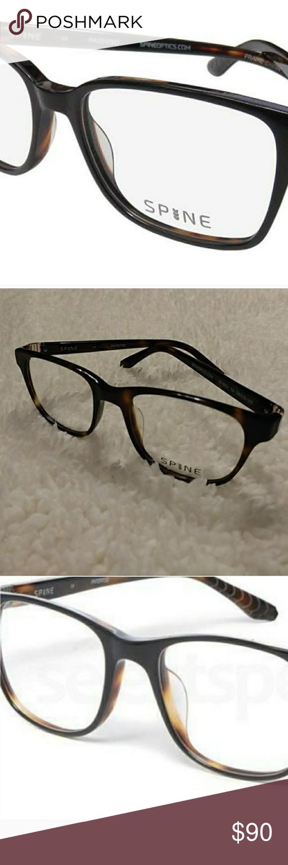 d2bc9816c7f0 NEW SPINE Lenses+ Authentic FENDI Case 🌟BRAND NEW 🌟 SPINE Prescription GLASSES  FRAME STYLE SP1002