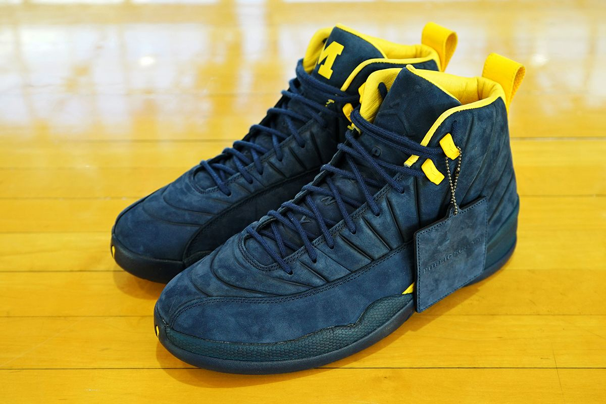 Psny X Jordan Brand X University Of Michigan Wolverines Eu Kicks Sneaker Magazine Krossovki
