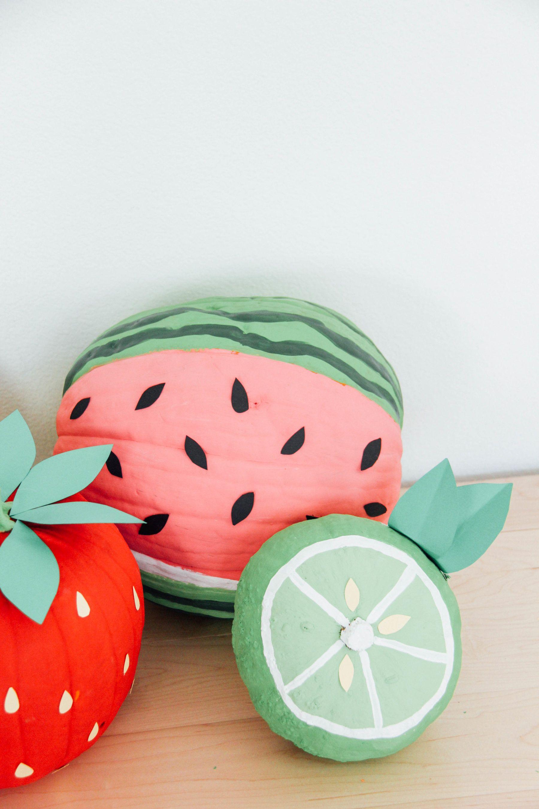 39d49b3bd DIY Fruit Pumpkins in 2019