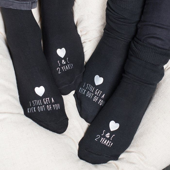 2nd Wedding Anniversary Gifts For Men: Kick Out Of You, Anniversary