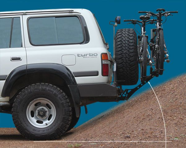 Isi Advanced 4x4 Bicycle Carrier And Bike Rack Systems Car Bike