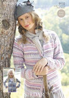 Designs :: Sirdar - Crofter DK | Ladies cardigan knitting ...