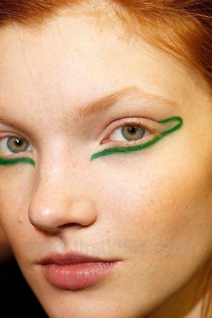 Anastasia Ivanova at the Ter Et Bantine 2 #prom eyebrows #prom lips