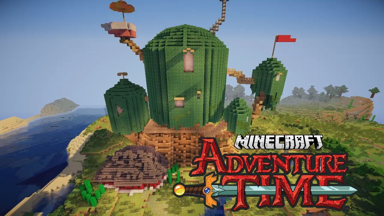 Schon Minecraft Adventure Time Treehouse