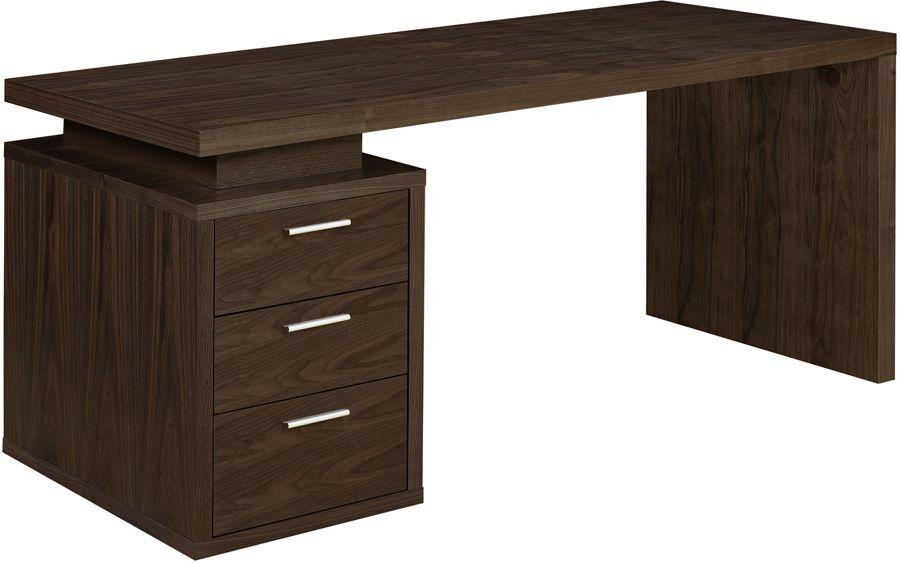 Gorgeous Walnut Office Desk Dark Furniture