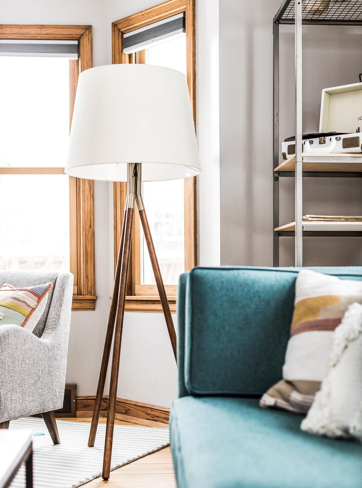 Grey Living Room Ideas With A Mid Century Modern Style Living Room Grey Lamps Living Room Living Room Inspiration