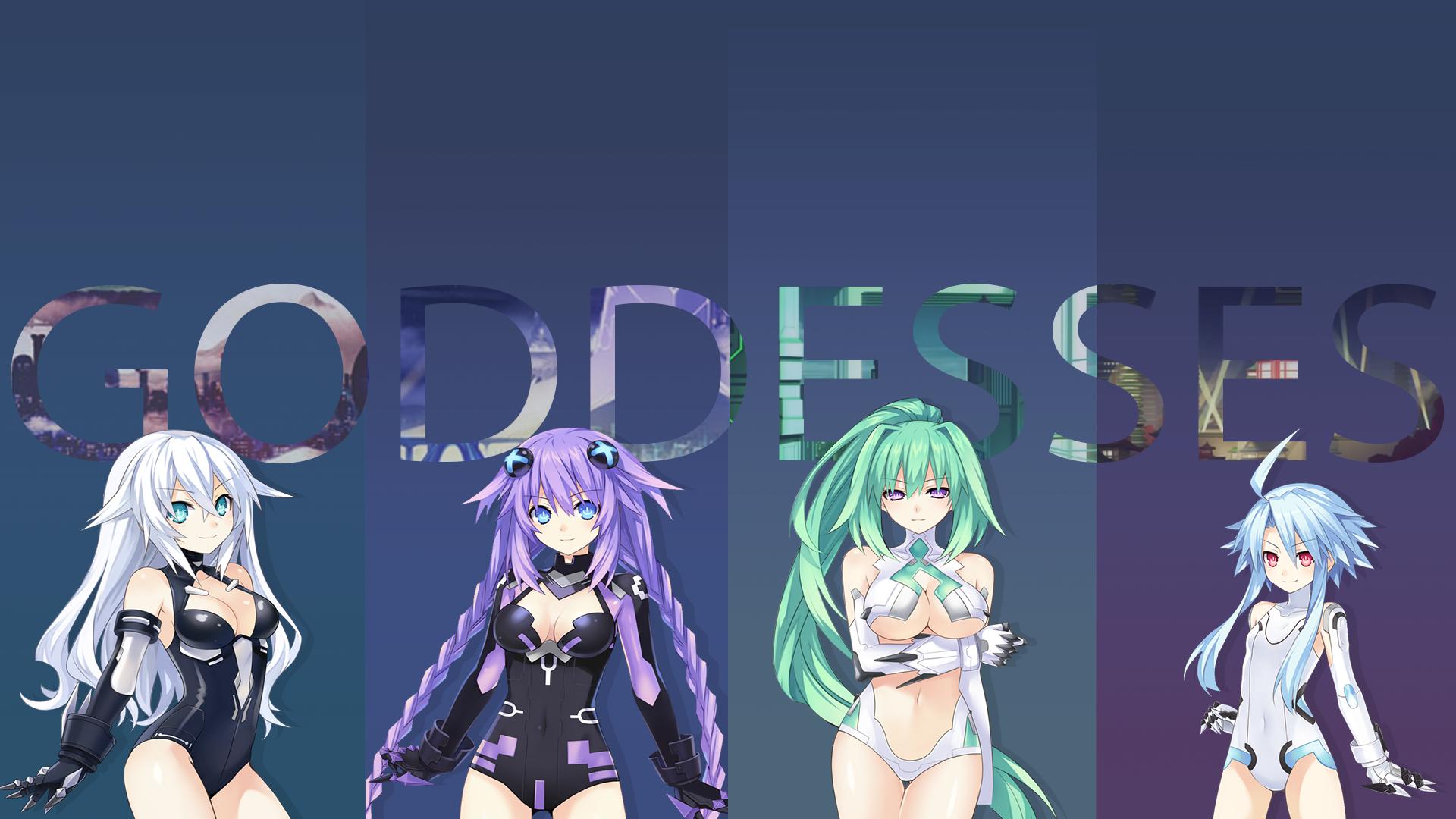 A Few Of My Hyperdimention Neptunia Wallpapers Hyperdimention