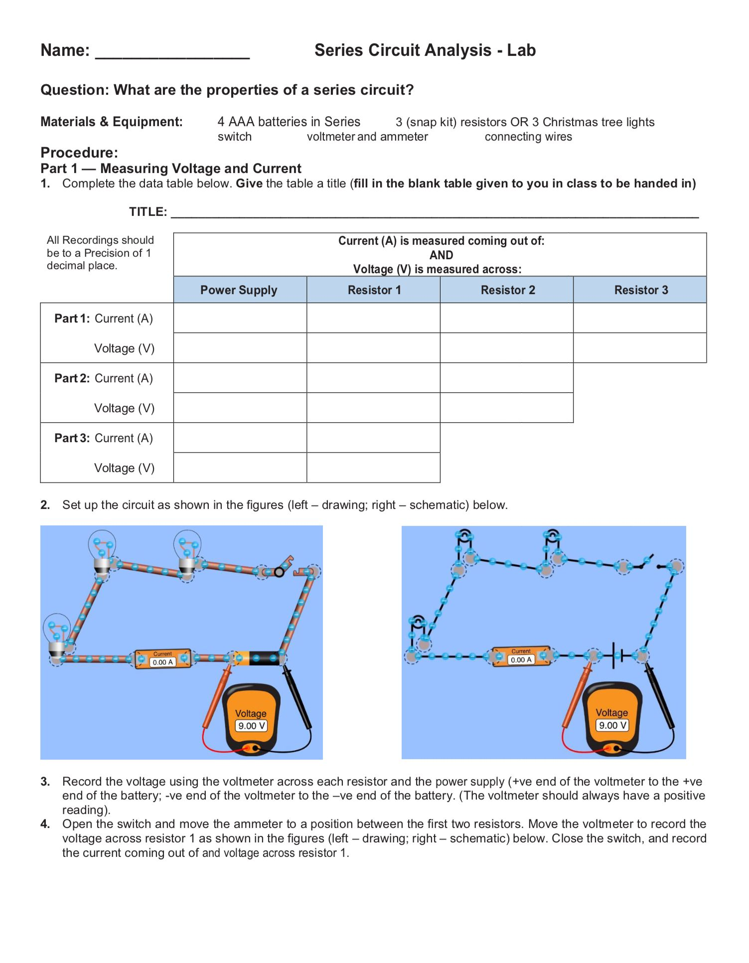 small resolution of Series Circuit Lab and Series Circuit GIZMO (www.explorelearning.com) -  Friday