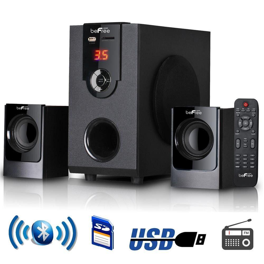 BeFree Sound Channel Surround Sound Bluetooth Speaker System