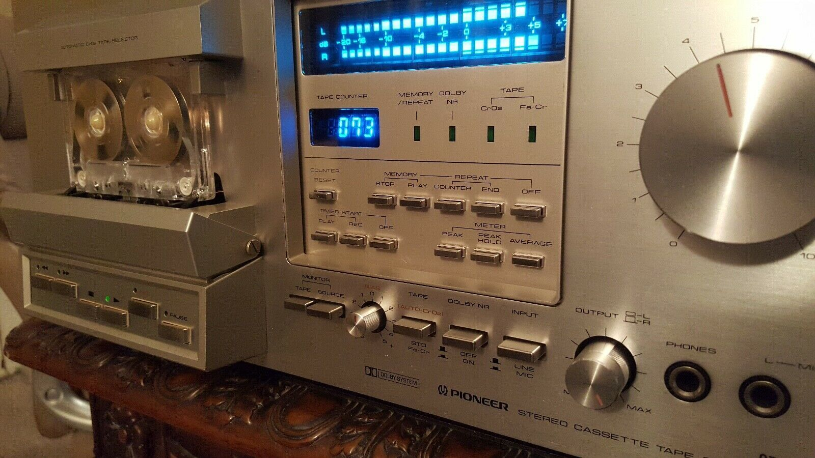 Vintage Pioneer CT-F900 Cassette Deck - Incredible Condition