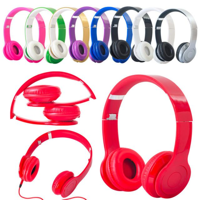 http://www.audio-devices.net/headphones/ 3.5mm Stereo #Headphone Earphone Headset for iPhone iPod MP3 MP4 PC Tablet Laptop $8.85