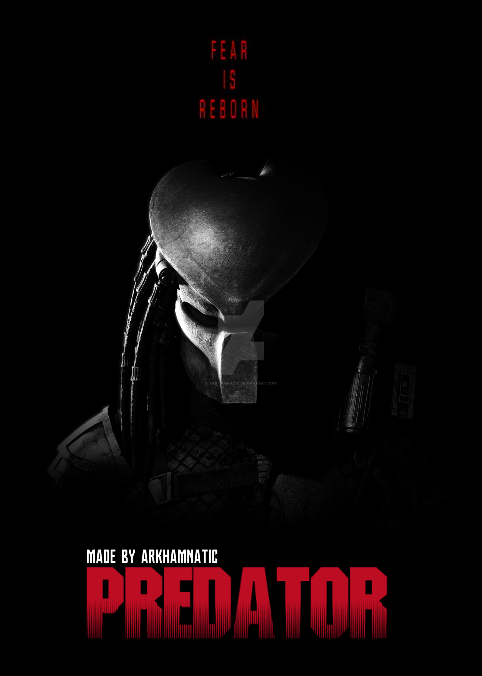 The Predator Movie Poster 2018 By Arkhamnatic Posters In 2019