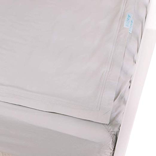 Amazon Com Quickzip Crib Sheet Set Faster Safer Easier Baby Crib Sheets Includes 1 Wraparound Base 1 Zip Crib Sheet Sets Baby Crib Sheets Crib Sheets
