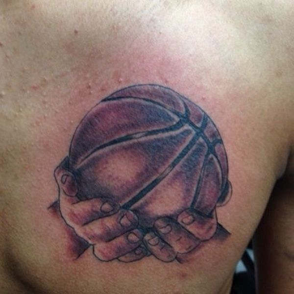 Basketball Tattoo Designs And Ideas For Men 1 Jpg 600 600 Pixels Basketball Tattoos Tattoos For Guys Tattoo Designs