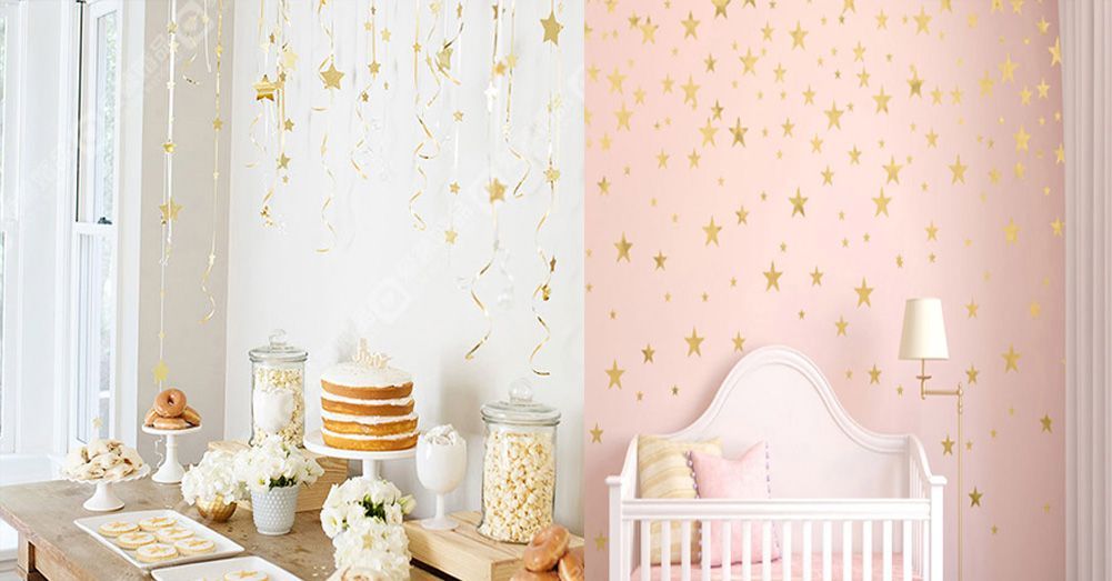 10 pieces Twinkle little Stars Wall Art Stickers Decals  Decor Room Home 16052008
