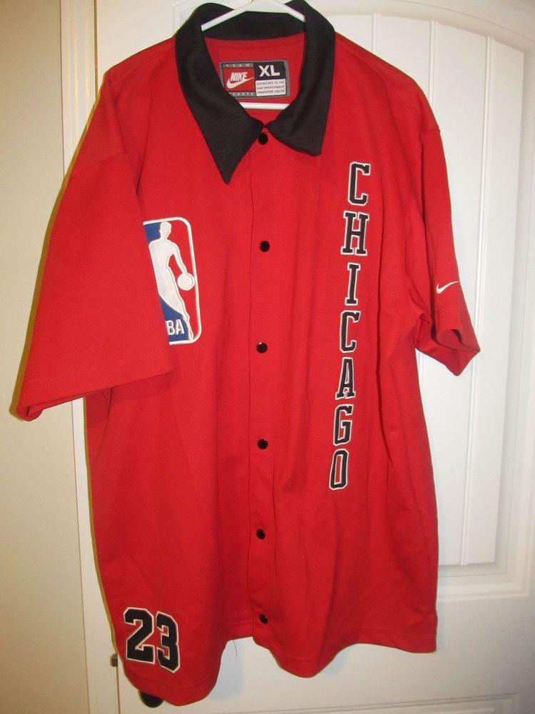 55769da665e Michael Jordan - Chicago Bulls Warm-Up Jacket - Nike Adult X-large  Nike   ChicagoBulls