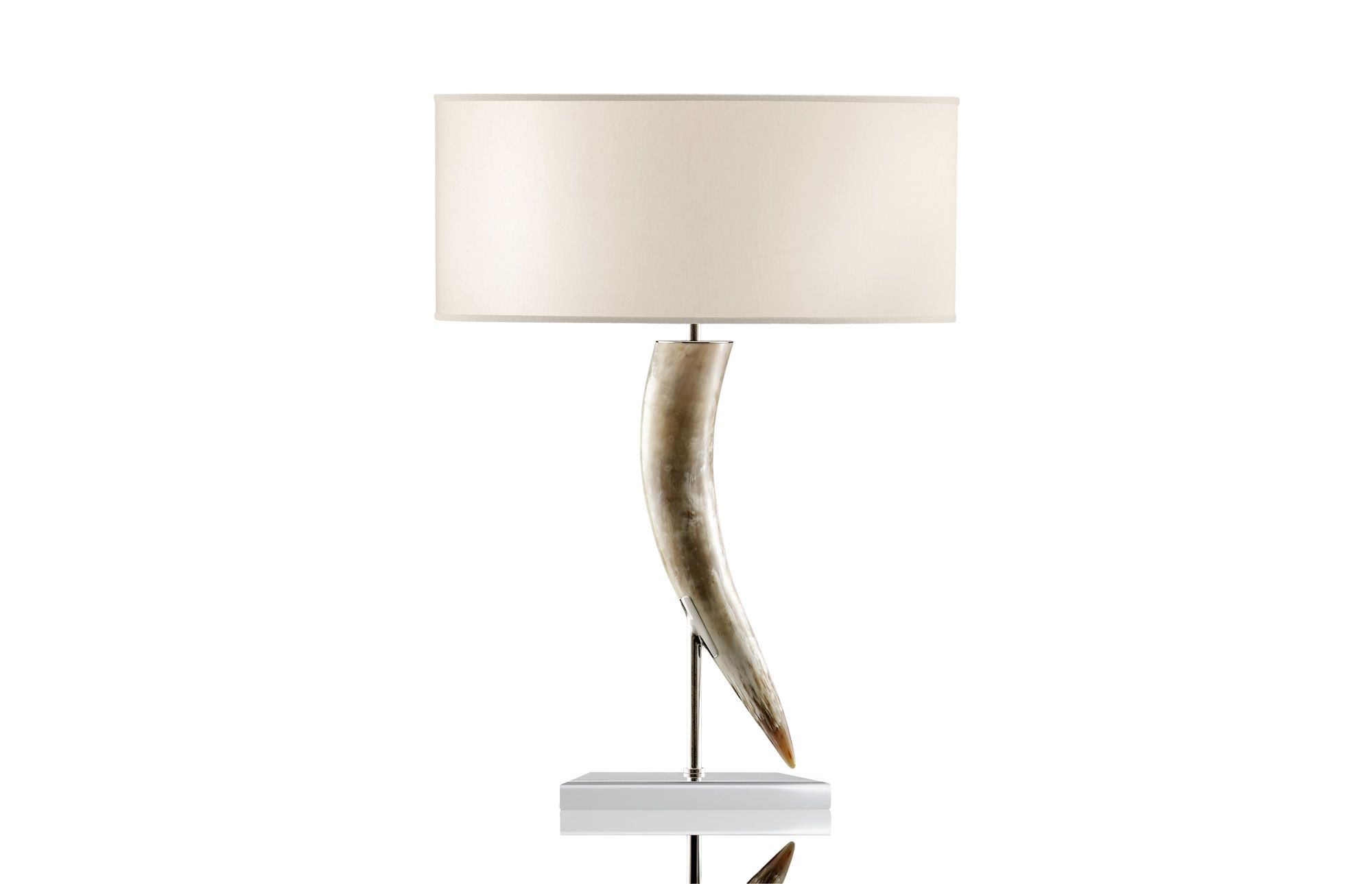 Table Lamps | Sorgenti Di Luce | Arcahorn 1256 Horn Sculpture Table Lamp In  Horn And