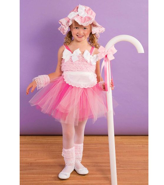 Little bo peep costume halloween pinterest toddler halloween this fun do it yourself project features easy steps and supplies for crafting a cute little bo peep costume for toddlers solutioingenieria Images
