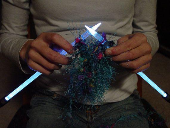 NeedleLite Lighted Knitting Needles US Size 13 1 Pair ...