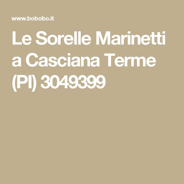 Le Sorelle Marinetti a Casciana Terme (PI) 3049399