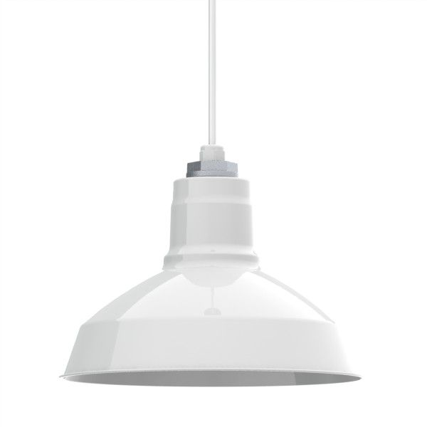 Drake Cord Hung Pendant Factory Shade Pendant Warehouse Shade