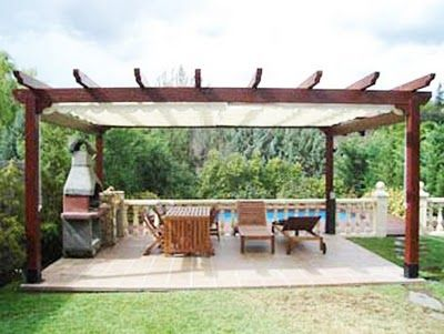 Two Tone Structure Interesting Pergola Pergola Patio Rustic Pergola