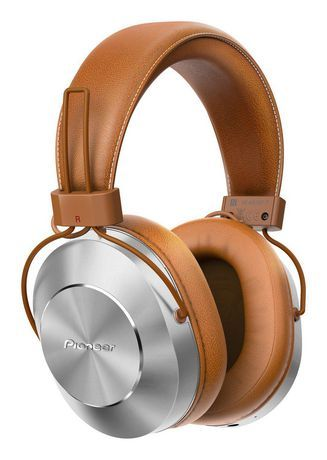 Pioneer Wireless Wired High Resolution Over Ear Headphone Brown In Ear Headphones Over Ear Headphone Wireless Headphones