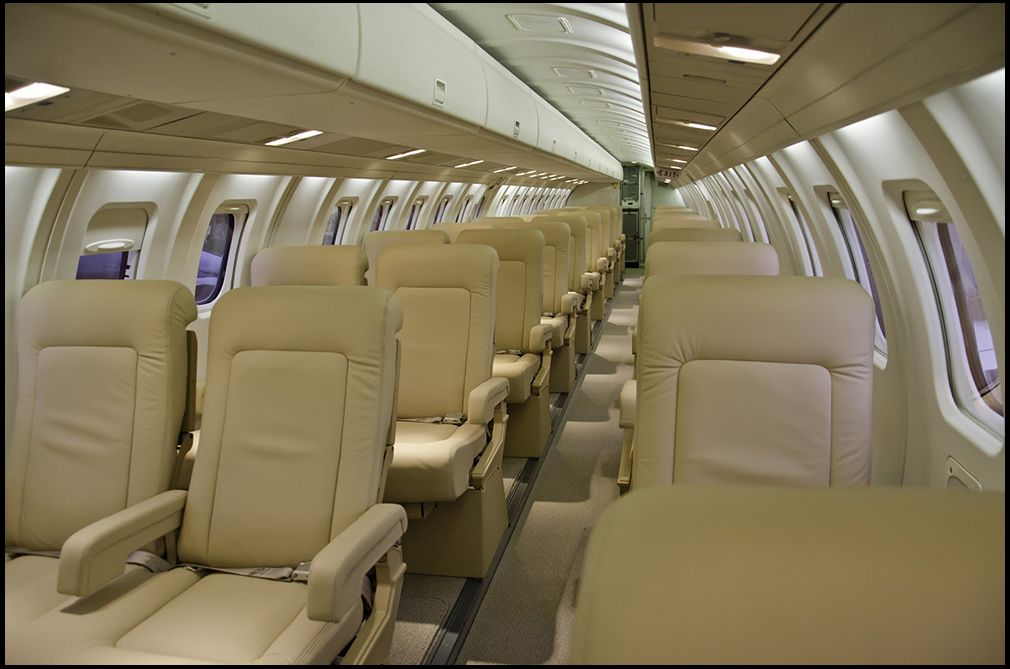 Affordable Luxury Flights on a Private 30 Seat Plane. New