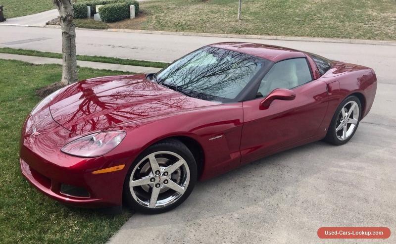 Car For Sale 2007 Chevrolet Corvette Base Coupe 2 Door