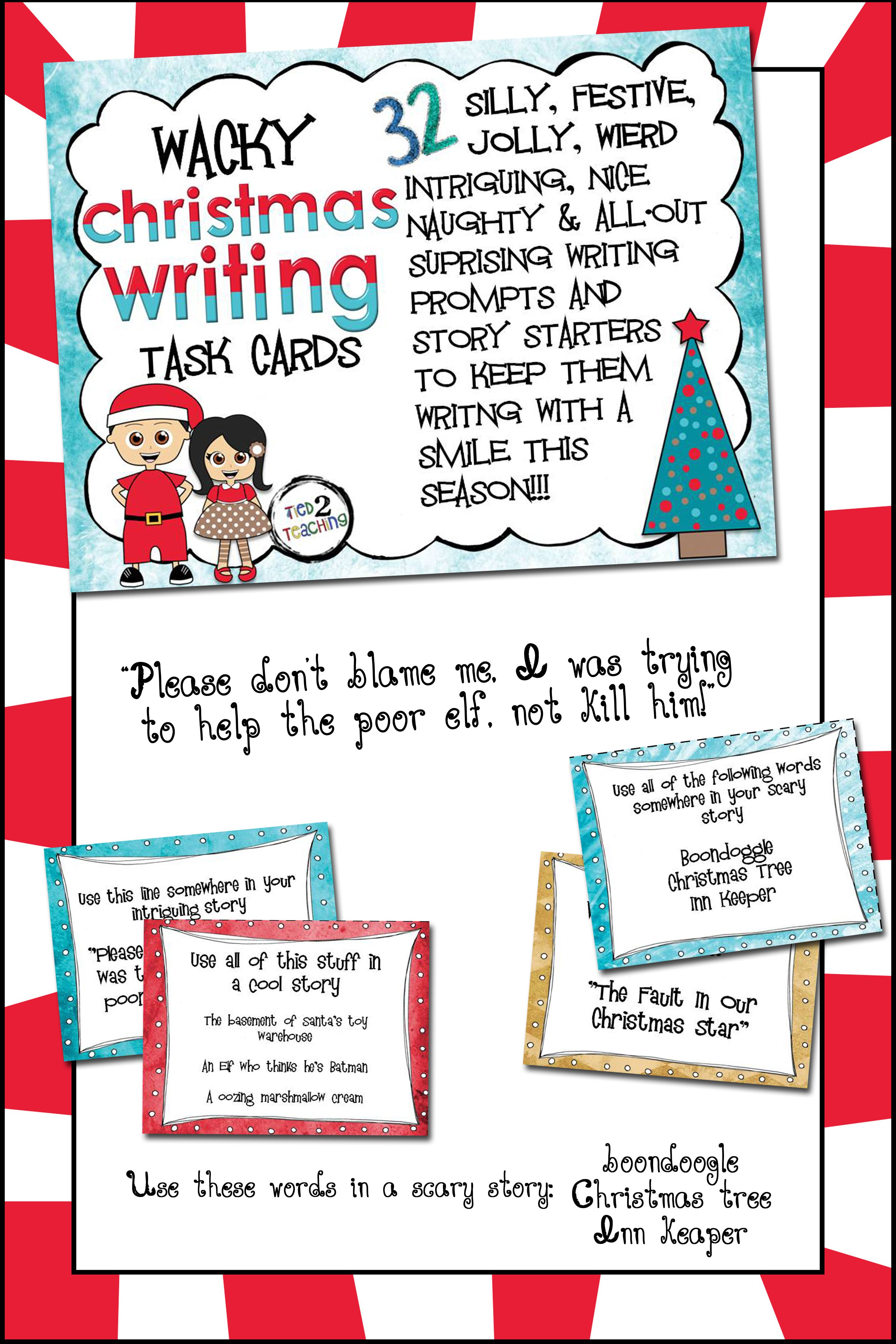 Christmas Narrative Writing