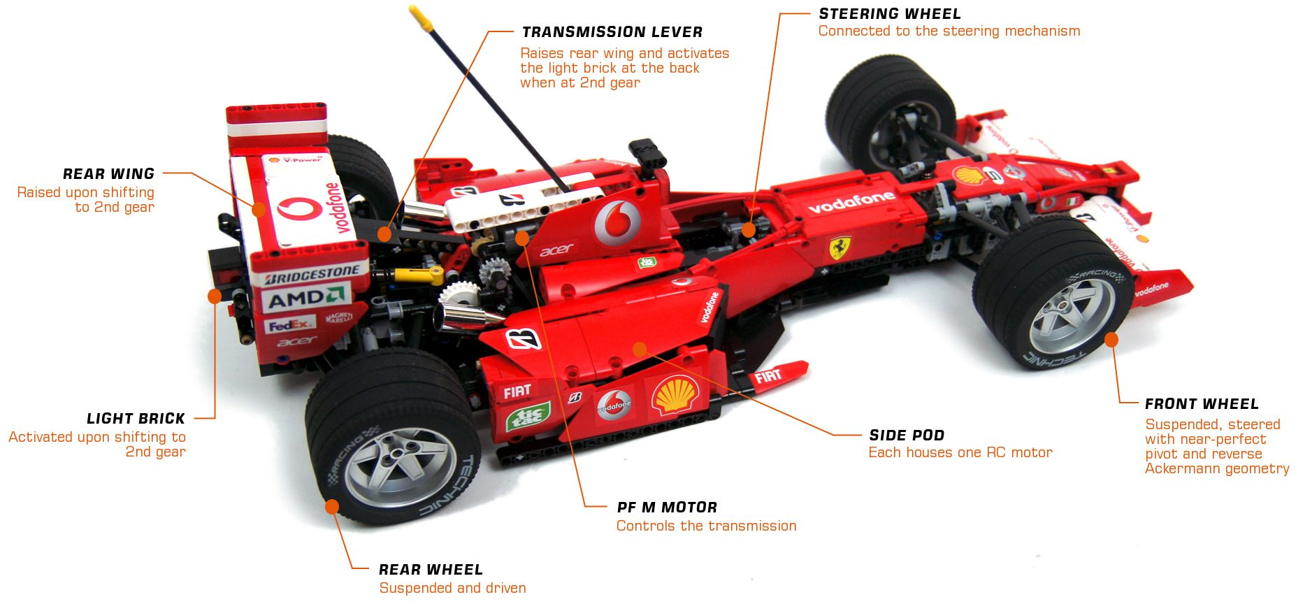 The Decal Work Alone On This Lego Ferrari F1 Car Is Amazing Car Ferrari Lego
