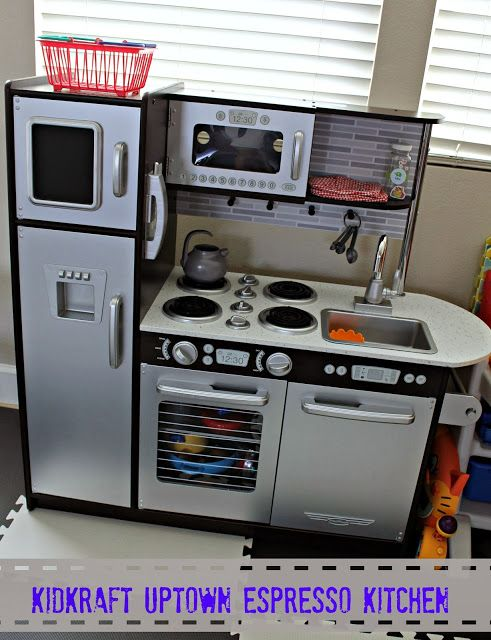 Being Mvp Calling All Mini Chefs Kidkraft Uptown Espresso Kitchen Is A Must Have On This Year S Holiday Wish List Lp Toys And Furniture