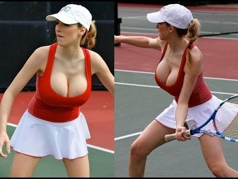 Sexy tennis girls