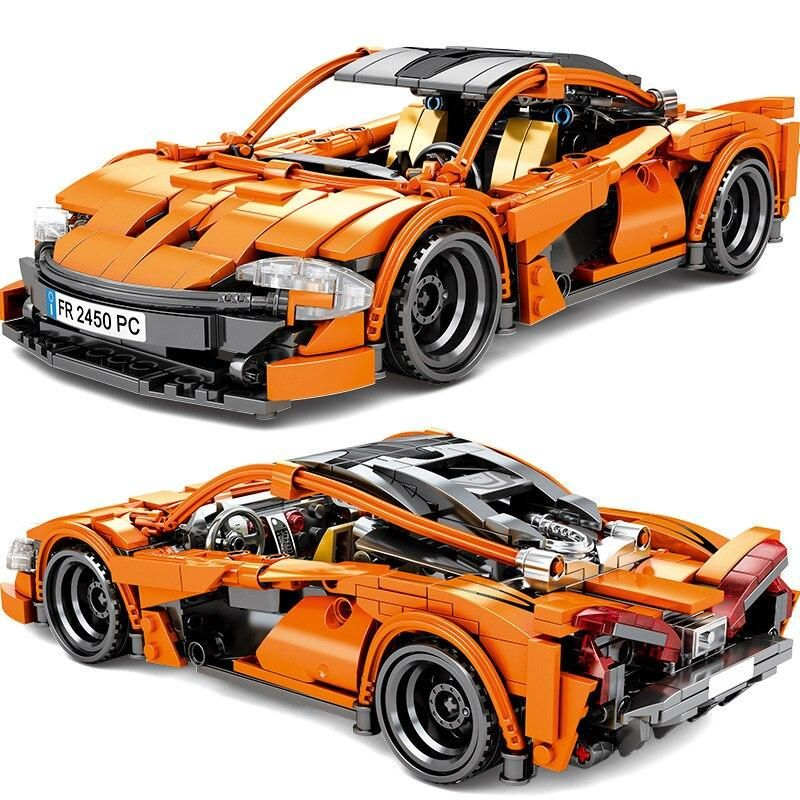 Racing Supercar Technic Building Bricks in 2020 Super