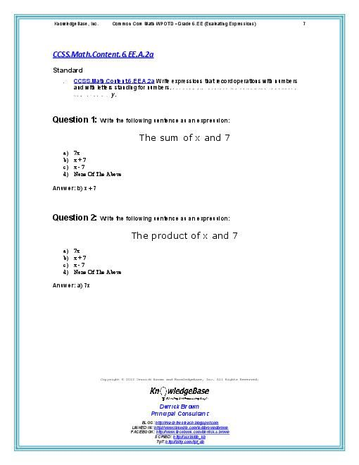 math problems common core 5th - Yahoo Image Search Results | math ...