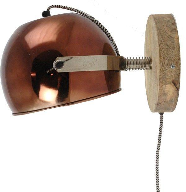 Wandlamp slaapkamer. Wandlamp Els koper | House | Huis | Pinterest ...