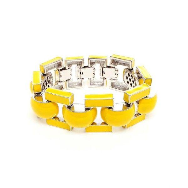J.W.ANDERSON Enamel Coated Metal Bracelet ($245) ❤ liked on Polyvore