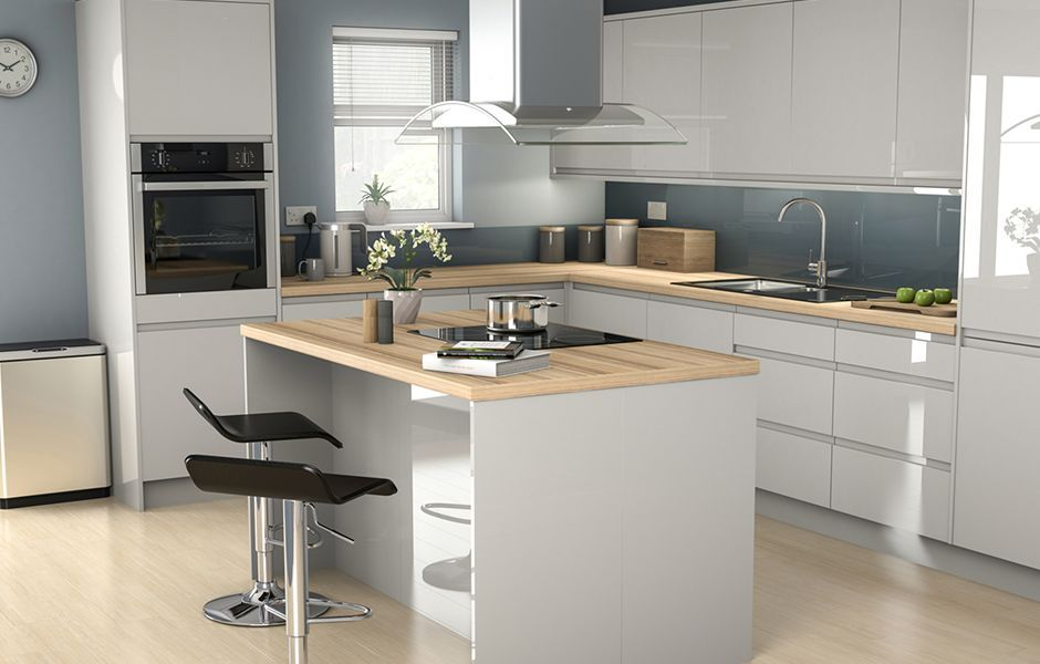 Best It Marletti Dove Grey Gloss With Integrated Handle 640 x 480