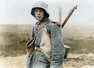 Deutsche Soldaten Somme 1916