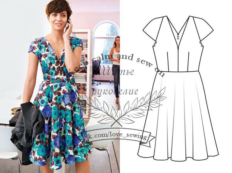 Vestido Modell 104 Burda 05/2014 | Costura / Sewing in 2018 | Pinterest