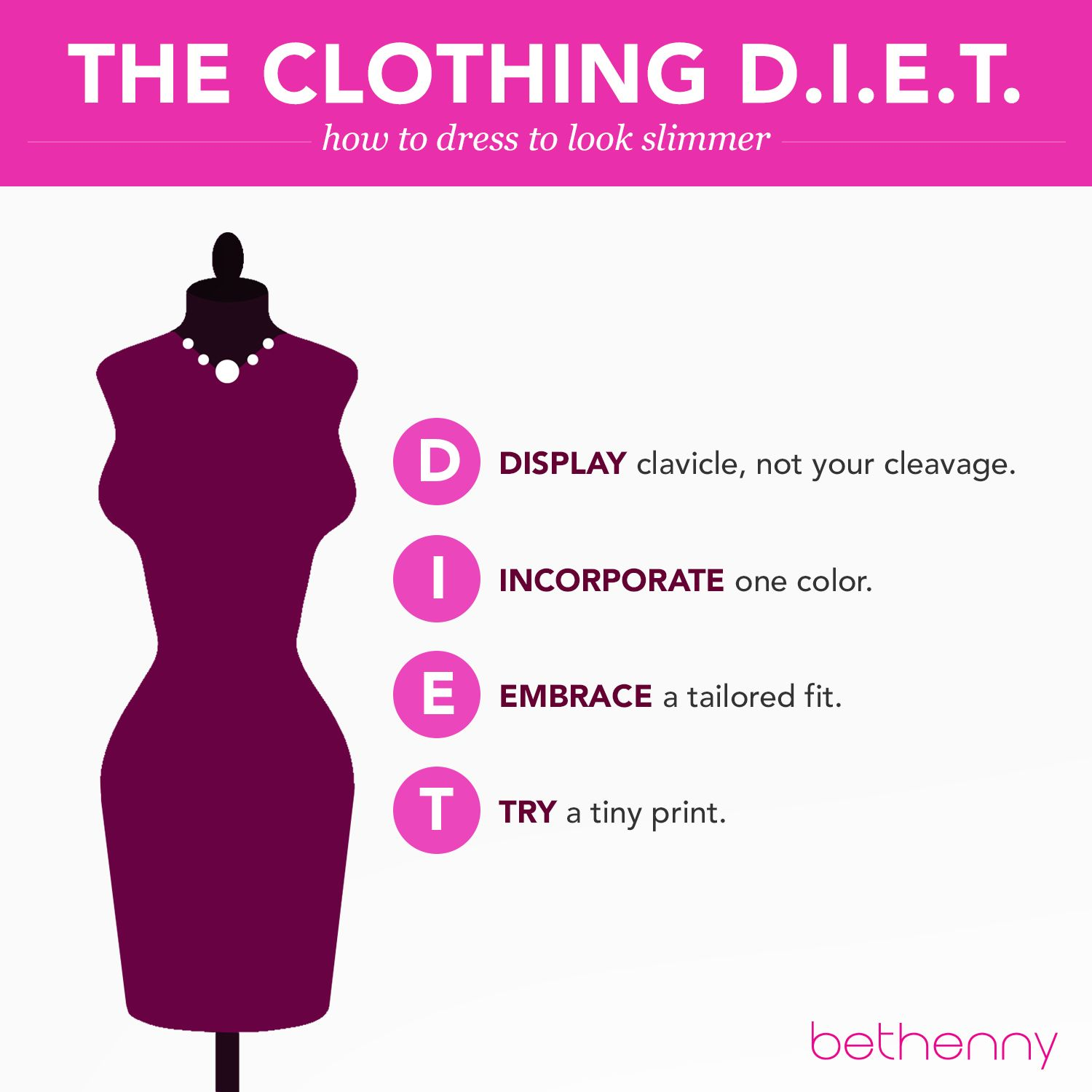 Believe Beauty Lounge Hair Tips To Make You Look Thinner: Secrets Of The Clothing Diet + 3 Look-Thin-Now Tips
