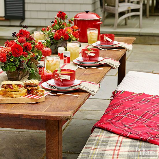 Fall Tablescape ideas BHG\u0027s Best Home Decor Inspiration